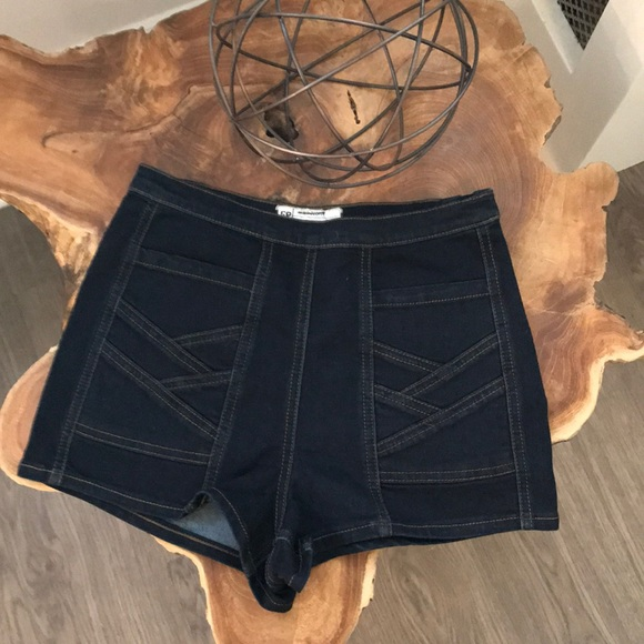 Free People Pants - Free people high-waisted Jean shorts